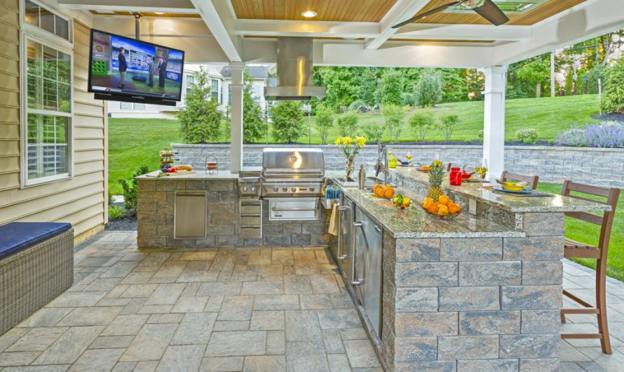 The best countertop for an outdoor kitchen